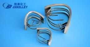 Metal saddle ring
